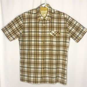 Kuhl Mens Button Up Shirt Born In The Mountains L